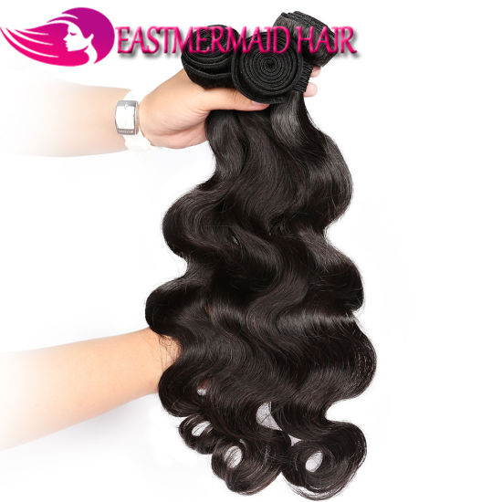 Body Wave Indian Hair Weaving Virgin Human Remy Hair Extension pictures & photos