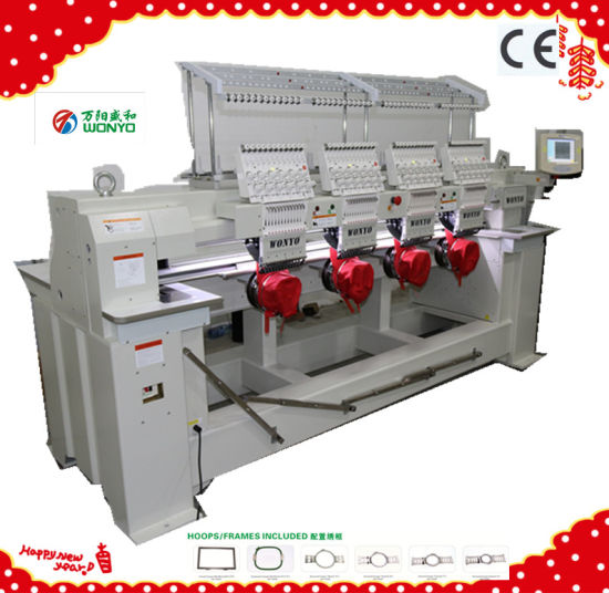 Wonyo Embroidery Machine Wy1204CS pictures & photos