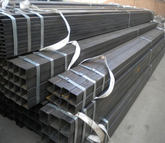 Black Annealing Hollow Section Square Steel Pipe pictures & photos