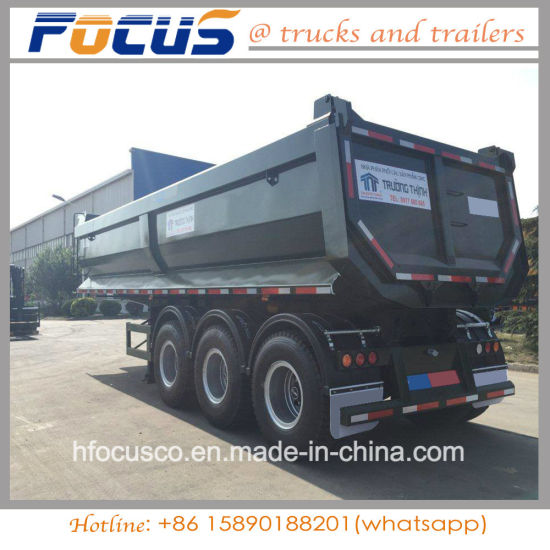 China brand new steel body semi tipper tipping dumper trailer for brand new steel body semi tipper tipping dumper trailer for sale philippine publicscrutiny Gallery
