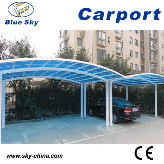 Sturdy And Strong Aluminum Carports For Sale With Polycarbonate Roof