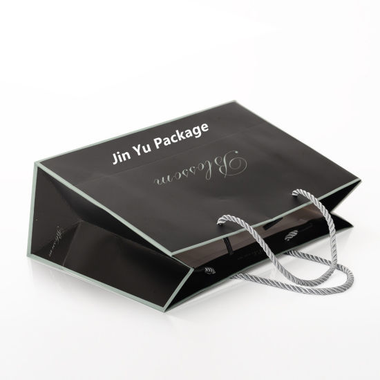 Popular Cardbaord Gift Paper Shopping Packaging Bag Wholesale