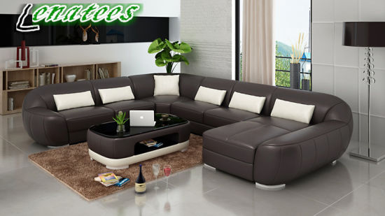 China G8022 Fancy Design Comfortable Modern Leather Sofa China Modern Leather Sofa Sectional Sofa