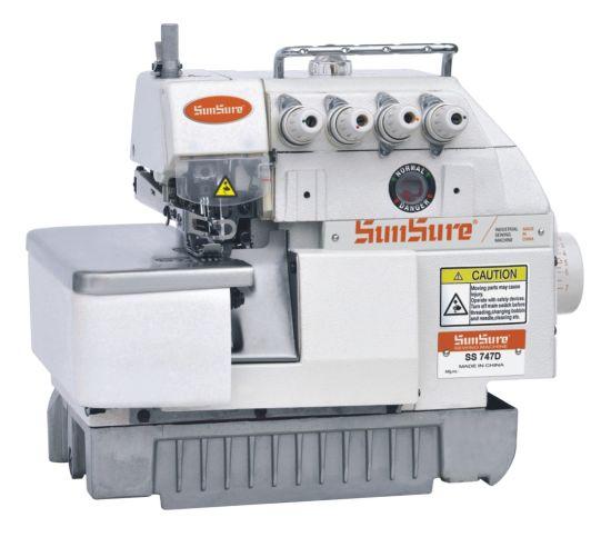 Direct Drive Four-Thread Overlock Sewing Machine