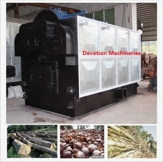 Wood/Bagasse/Coconut Shell 1t/H Packaged Steam Boiler pictures & photos