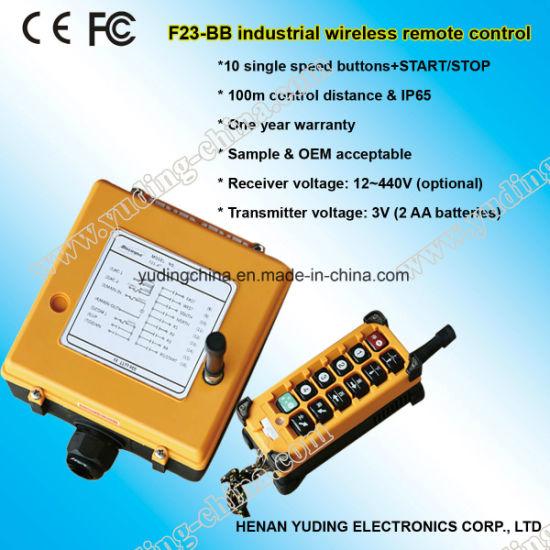 F23-Bb Hoist Remote Controller, Wireless Remote Control, Overhead Travelling Crane Control