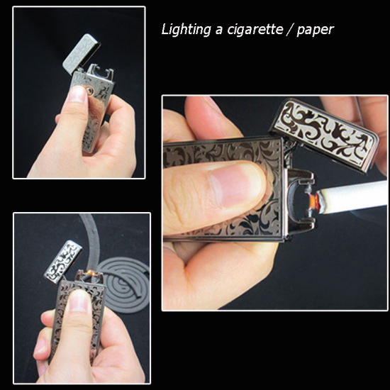 High Power Electronic Arc USB Rechargeable Cigarette Lighter pictures & photos