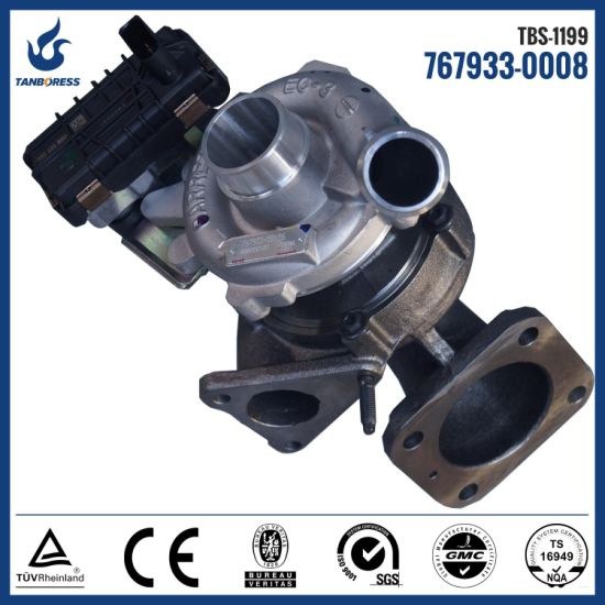Electrical turbo GTA2052V 767933-15 767933-8 767933-0008 767933-5015S turbo  for Ford Transit engine turbo