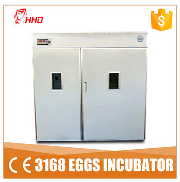 China Fully Automatic Chicken Egg Incubator for Hatching