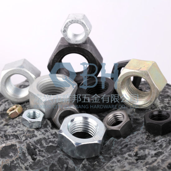 High Quality DIN934 Hex Nuts Cl. 6/8/10