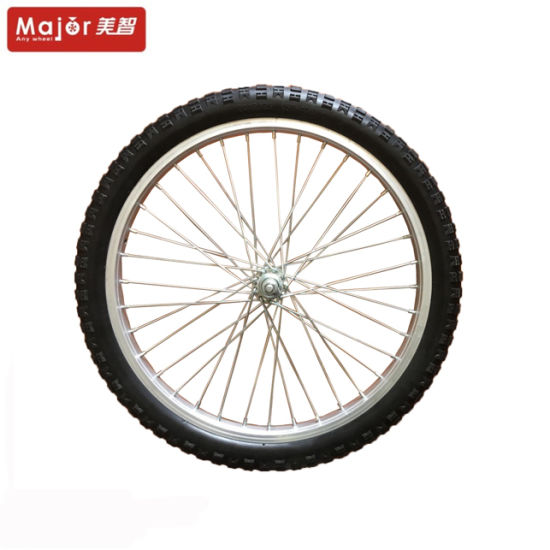 20 Inch Puncture Proof Bicycle Tyre PU Foam Wheel for Bicycle Trailer