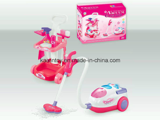 Battery Operate Toys of Children Cleaning Set pictures & photos