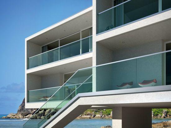 China Balcony Stainless Steel Glass Railing Design China Balcony