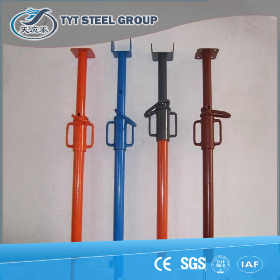 Adjustable Electro Galvanized Spanish Prop/ Scaffolding Jack Made in China