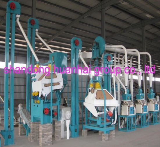 20tpd 40tpd 50tpd 100tpd Maize Flour Mill pictures & photos