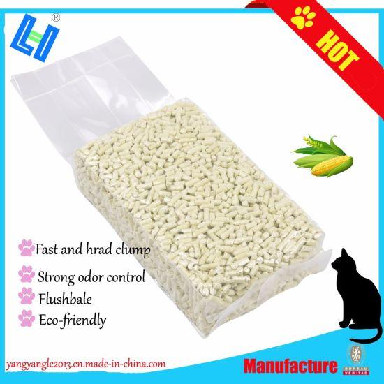 Pet Product: Hot Sell Fast Clump Corn Cat Litter (YYLC01)