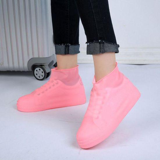 a3956c2020 Reusable Rain Shoe Covers Waterproof Unisex Shoes Overshoes Boot Gear