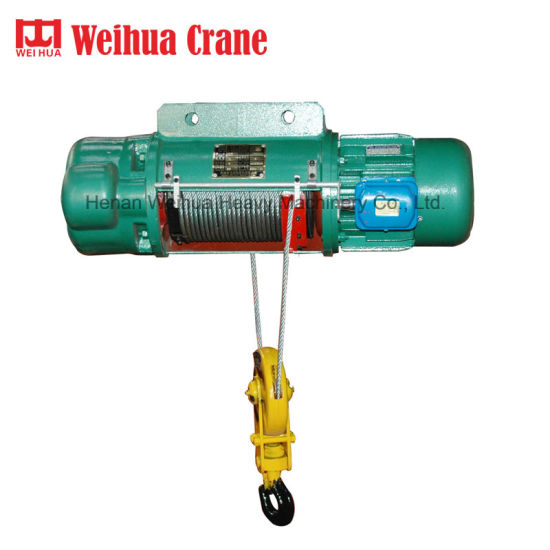 Weihua 1 Ton 2 Ton Electric Wire Rope Hoist for Sale