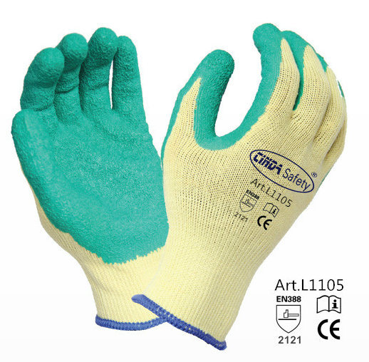 Construction Protective Latex Coated Work Gloves/Safety Gloves pictures & photos