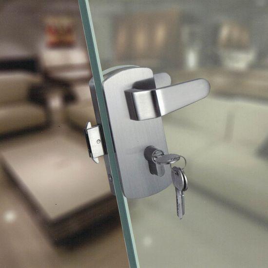 China Lever Handle Glass Door Lock With Knob For Sliding Glass Door