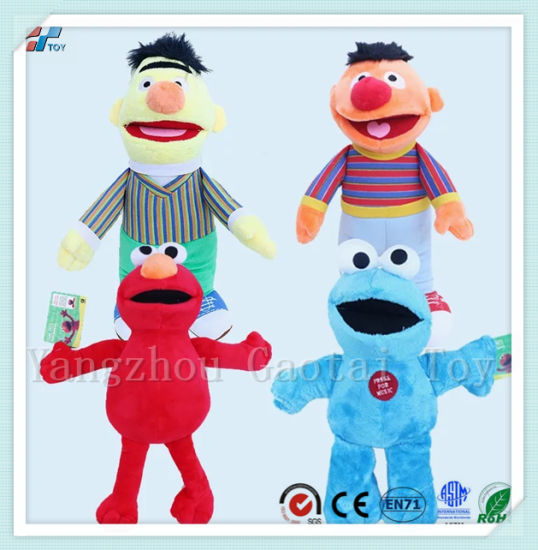 Custom Sesame Street Elmo Stuffed Puppets Plush Mascot Doll Toy pictures & photos
