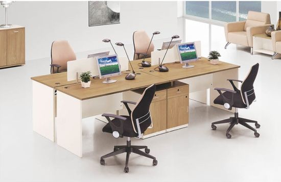 Wooden Design Office Furniture with MFC Material (OWCK-1001-163)