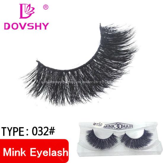 1039c2a0535 Wholesale Private Label OEM Multi-Layer 3D 100% False Mink Eyelashes