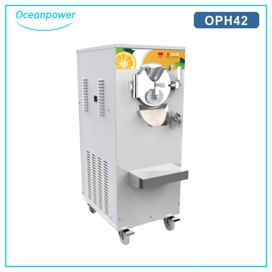 Gelato Ice Cream Making Machine (Oceanpower OPH42) pictures & photos