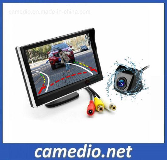 Dynamic Tracks Car Camera with 5 Inch HD Parking Monitor