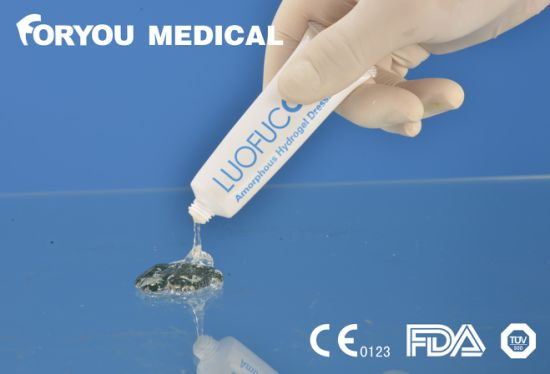 Hydrogel Dressing Advanced Medical Dressing Amorphous Hydrogel Dressing pictures & photos