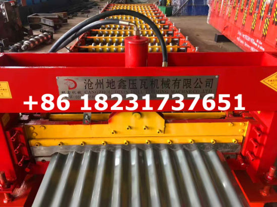 Hot Sale Corrugated Sheet Roll Forming Machines pictures & photos