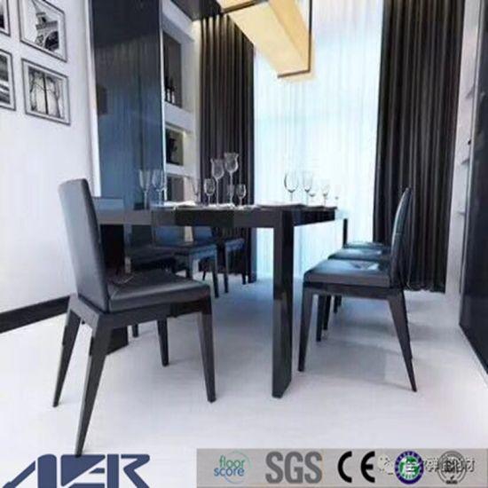 china top quality pvc vinyl floor tile solid color for kids dance