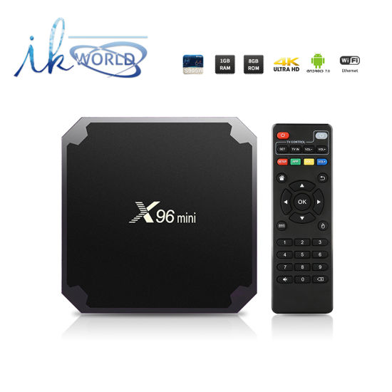 80d96ed1559 X96 Mini 1GB 8GB Amlogic S905W Chips Android TV Box IPTV Set Top Box Kodi  Full Loaded with WiFi
