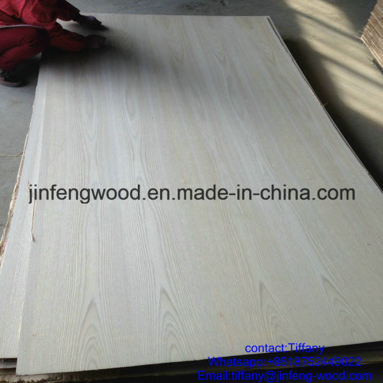 Hot Sale Sudan Market Used Nature Red Oak Veneer MDF 1220*2440*17mm pictures & photos