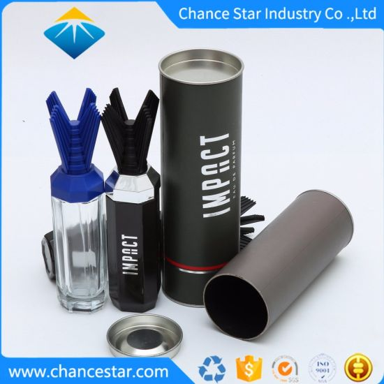 Custom Thick Cardboard Cylinder Box for Bottle Packing