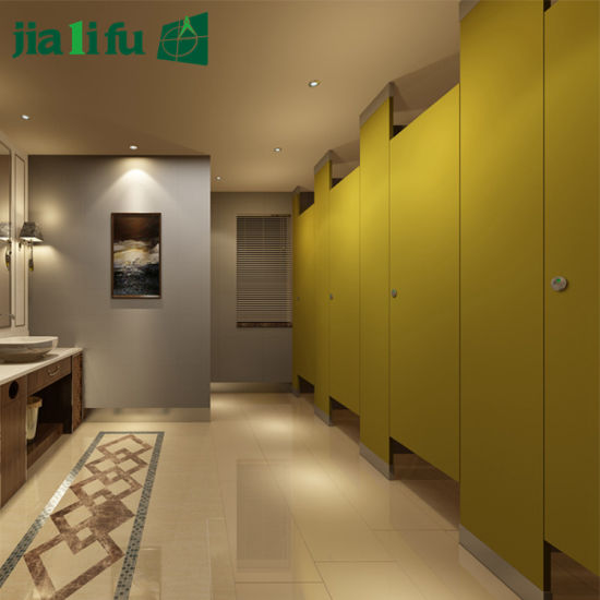 Jialifu Public Compact Laminate Hotel Toilet Partition pictures & photos