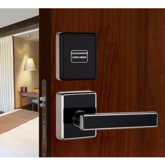 High Quality Modern Design Hotel Electonic Card Door Lock pictures & photos