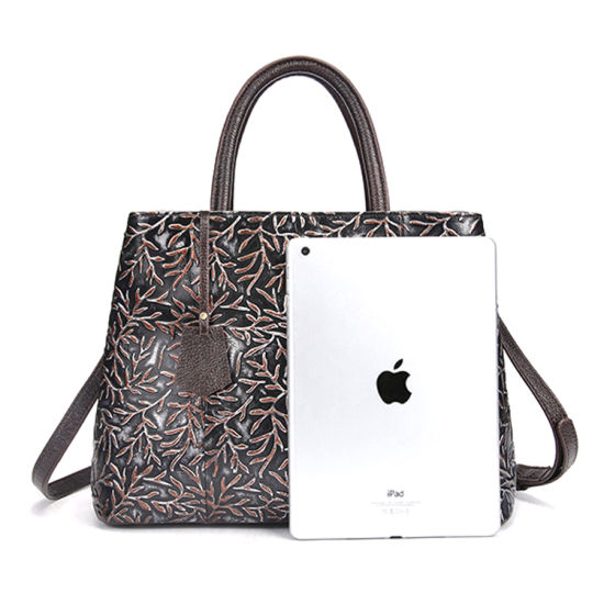 f0733e8712 Best Selling Good Quality Low Price Real Leather Designer Handbag Ladies  Tote Bag