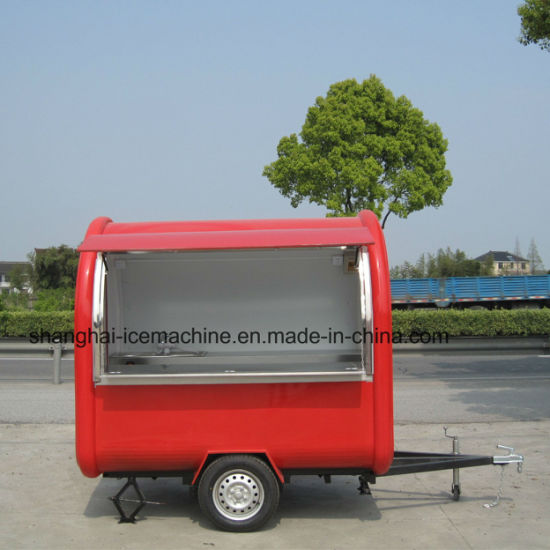 Customized Convenient Mall Vending Electric Ice Cream Coffer Mobile Coffee Street Cold Drinks Easy Operation BBQ Kitchen Shop Mobile Food Trailer pictures & photos