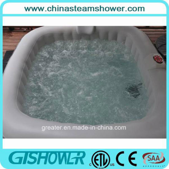 6 Person Outdoor Portable Inflatable Hot Tub (pH050015) pictures & photos