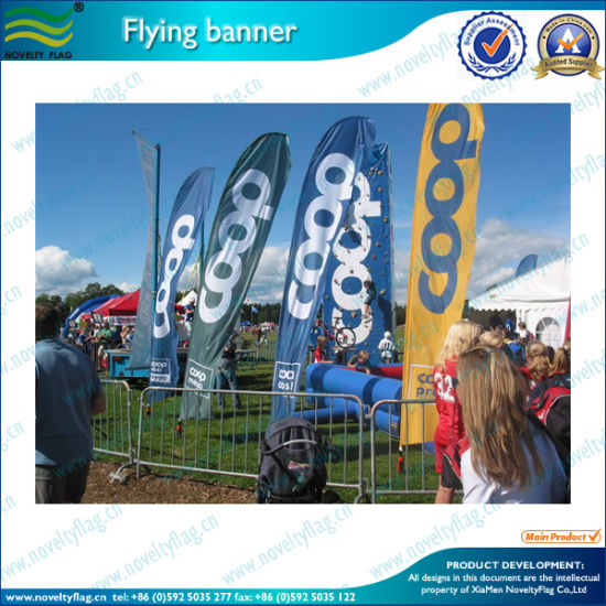 Knife Shape Blade Feather Event Flag Advertising Beach Flag (M-NF04F06026) pictures & photos