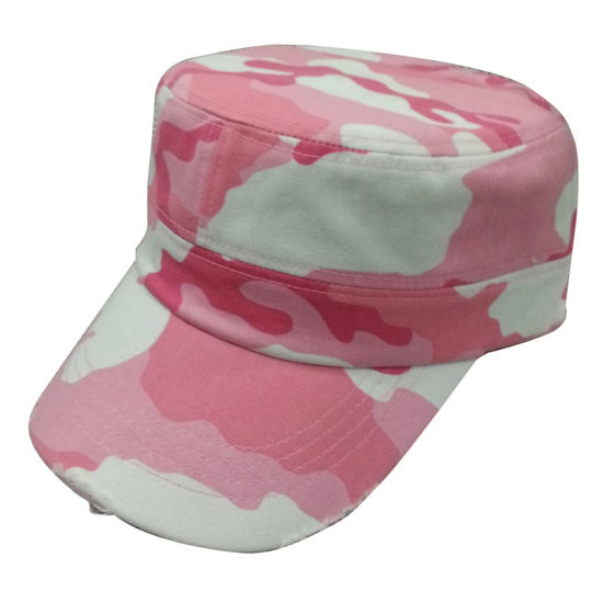 aab0eec013d China Hot Sale Army Cap with Floral Fabric Mt09 - China Military Cap ...