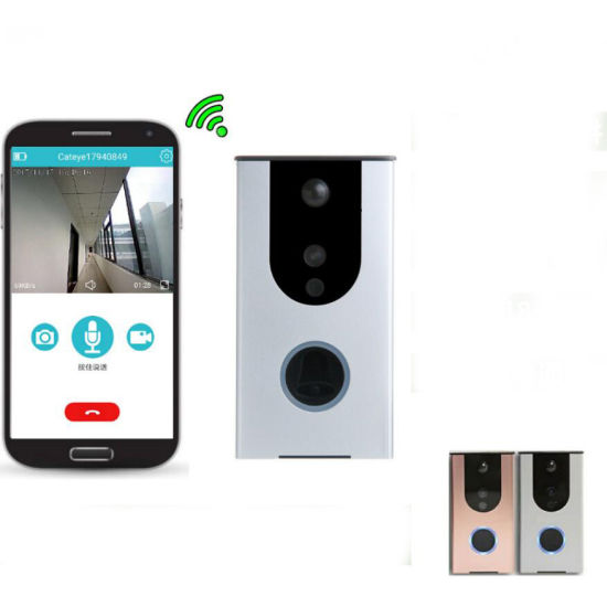 Best Reviews WiFi Video Ring Doorbell Smart Door Phone for Home Security pictures & photos
