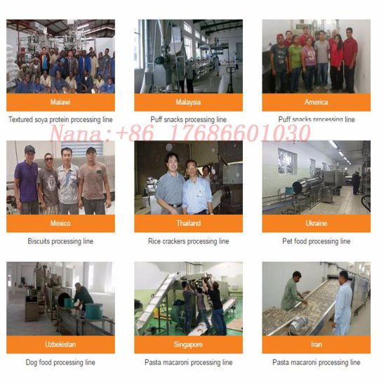 Ce Standard Full Automatic Corn Snacks Kurkure Extrusion Line pictures & photos