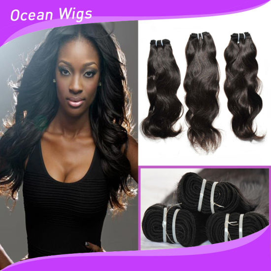 8a No Tangle Shedding Brazilian Virgin Human Hair Weave Prices For Whole Natural Wave Extension