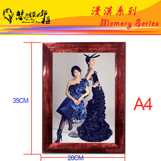 Aluminum Snap Frame Picture Frame Photo Frame pictures & photos