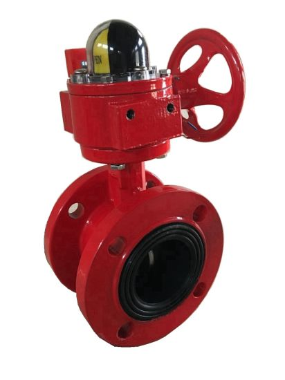 Flanged Signal Butterfly Valve with Tamper Switch