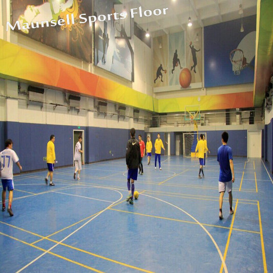 2018 New Product Indoor PVC Sports Floor for Soccer / Futsal Court pictures & photos