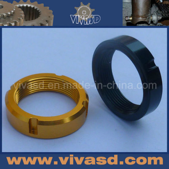 CNC Aluminium Ring Parts with Pretty Anodize pictures & photos