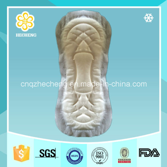 230mm Sanitary Towel Without Wings for USA Market with FDA